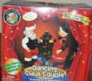 Dancing Claus couple