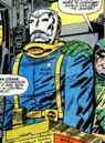 Nick Fury enslaved by an Electro Mask from Strange Tales Vol 1 143.jpg