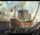 Barcos de Stannis Baratheon