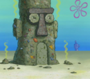 Squidward's trash house