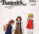 Butterick 6784 A