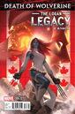 Death of Wolverine The Logan Legacy Vol 1 6 Canada Variant.jpg