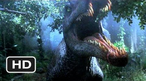 Jurassic Park 3 (2 10) Movie CLIP - Spinosaurus Attack! (2001) HD