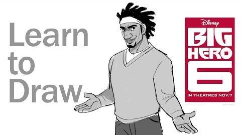 Learn to Draw Wasabi from Big Hero 6 Disney Insider