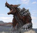 Godzilla Vs The Animal From The Blue Star