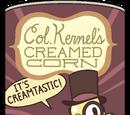 Crema de maíz dulce del Coronel Mazorca