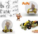 Sonic & Sega All-Stars Racing concept artwork