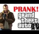 Grand Theft Auto IV Xbox Live Prank