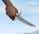 Valyrian Steel Curved Dagger