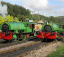 "Bagnall 0-4-0ST ""Alfred"" and ""Judy"""