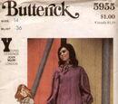 Butterick 5955 B