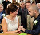 Het huwelijk van Mieke Van den Bossche en Niko Schuurmans