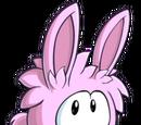 Puffle Conejo Rosa