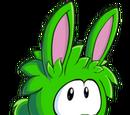 Puffle Conejo Verde