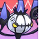 Cara enfadada de Chandelure 3DS.png