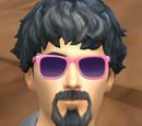 Homem do Óculos Rosa