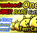 Guaranteed Uber Rare Cat campaign