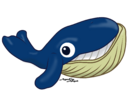 Balaenoptera musculus (chibi) by AgnessAngel.png