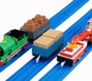 Percy and Pounding Wagons Set
