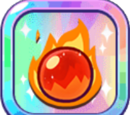 Fire Spirit Cookie's Flame Ball
