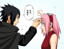 Sasuke talks to Sakura.png