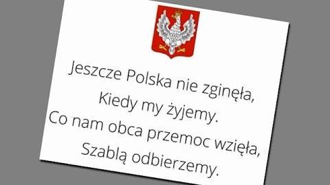 """,,Mazurek Dąbrowskiego"""""""