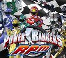 Power Rangers RPM (Purple Dino Ranger Version)