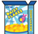 Daisy Flakes Cereal