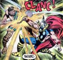 Thor Odinson (Earth-616) battles Hercules for the first time from Thor Annual Vol 1 5.jpg