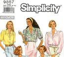 Simplicity 9857 A