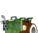 Coconut Rocket Launcher