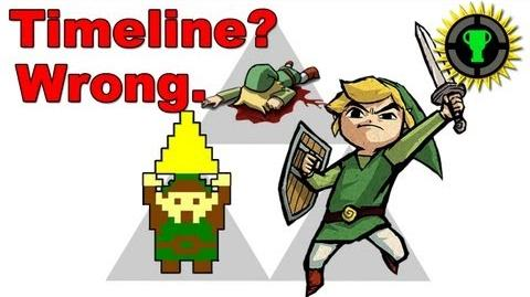 Game Theory Why the Official Zelda Timeline is Wrong