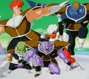 Piccolo entrenado (saga de freezer) vs Fuerzas Ginyu