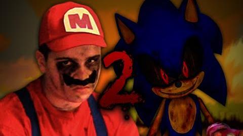 MARIO vs Sonic.exe 2. Epic Rap Battles of Creepypasta Season 2.-0