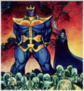 Thanos (Earth-616) and Death (Earth-616) from Cosmic Powers Unlimited Vol 1 1.png