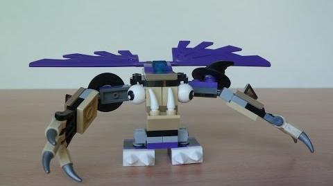LEGO MIXELS HOOGI and MESMO MIX with Lego 41523 and Lego 41524 Mixels Serie 3