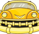 Golden Bumper Car