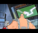 Laser dimension blade