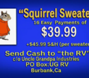 Squirrel Sweaters