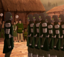 Kuvira's Earth Empire Military Force