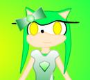 Emerlina the Chaos Emerald Hedgehog