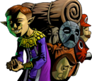 Personajes de The Legend of Zelda: Majora's Mask