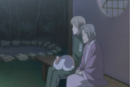 Chizu telling natsume the mermaid legend.png