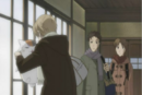 Natsume punishing nyanko while being watch.png