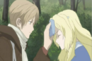 Natsume putting handkerchief on the bruise head.png