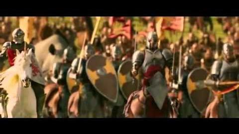 Cronicas De Narnia El Leon, La Bruja Y El Ropero, Batalla - Español Latino -