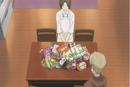 Touko prepares snacks for natsume study trip.png