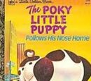 The Poky Little Puppy Follows His Nose Home