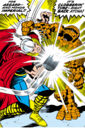 Thor Odinson (Earth-616) vs the Thing from Fantastic Four Vol 1 73.jpg