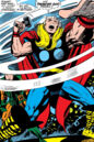 Thor Odinson (Earth-616) prepares to battle Galactus in Thor Vol 1 161.jpg